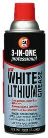 3-IN-ONE 10042 Professional White Lithium Grease, 10.25 oz.