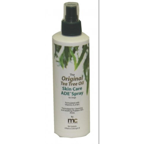 Miracle Coat Tea Tree Skin Care Spray 8-Ounce, My Pet Supplies