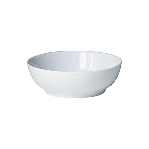 Denby White Soup/Cereal Bowl, Set of 4