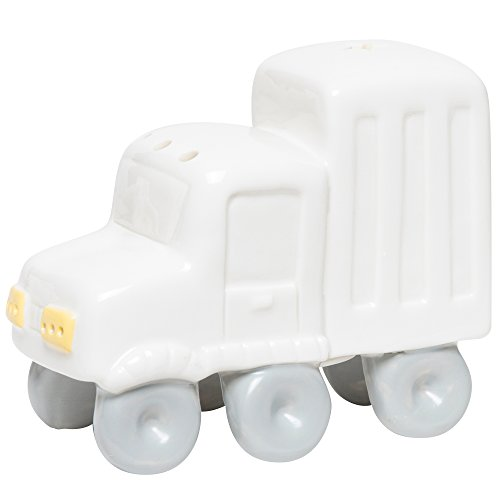 C.R. Gibson Porcelain Truck LED Night Light for Newborns, Babies, and Nurseries, 5.5