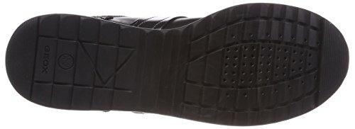 Negro Mujer Zapatillas Geox D Black Deynna para D qSYzS