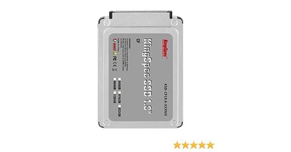 128 GB KingSpec 1,8 pulgadas IDE CF 50 pines de estado sólido SSD ...