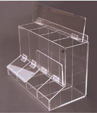 4 Compartment Dispenser by AK