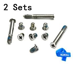 Bluecell Repair Replacement Screws for Unibody Apple Macbook Pro A1278 A1286 13\