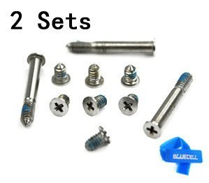 bluecell repair replacement screws for unibody apple macbook import it all. Black Bedroom Furniture Sets. Home Design Ideas