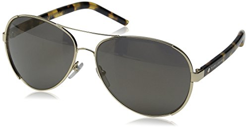 Marc Jacobs Women's Marc66s Aviator Sunglasses, Gold/Gunmetal Mirror, 60 - Mirror Marc Jacobs