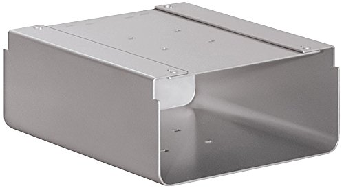 Salsbury Industries 4315SLV Newspaper Holder for Roadside Mailbox and Mail Chest, Silver