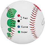 Baseball Pitching Grip Trainer - Easy Color Codes To Learn Multiple Pitch Grips
