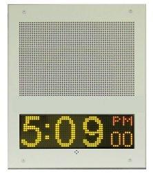 Advanced Network Devices - IPSWD-FM - IP Speaker with Display (Flush Mount) by Advanced Network Devices, Inc.