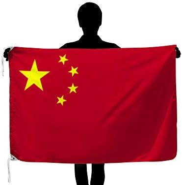 世界の国旗 中華人民共和国[中国] 国旗 [90×135cm 高級テトロン製]