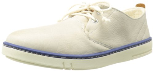 Timberland Men's Hookset Leather Oxford,White,7 M US - Timberland Men Hookset