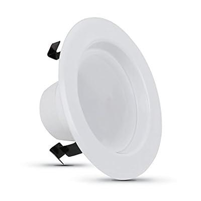 """Feit 4"""" Dimmable Retrofit LED Kit, CA Title 24 Compliant, 5000K"""