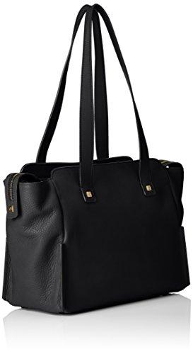 SpallaPelleNero30 Borsa Bag Piquadro Collezione Shopping Cm Nero Sirio A eIYEDH29W