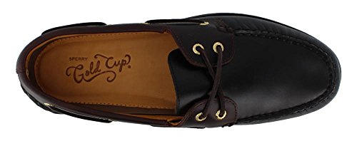 Sperry Top-Sider Gold Cup Authentic Original Boat Shoe Black/Amaretto zXAOLW15uf