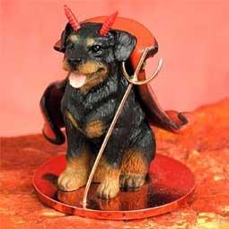 Rottweiler Little Devil Dog (Devil Dog Figurine)
