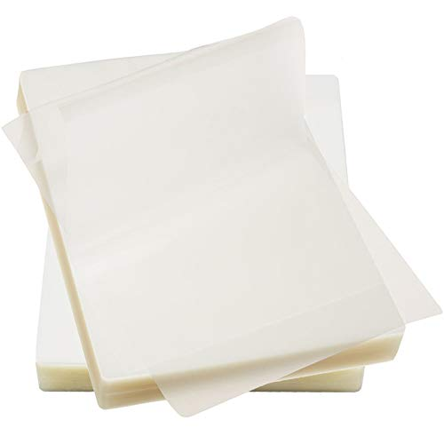 Immuson Thermal Laminating Pouches 8.9 x 11.4, 3Mil Thickness, Crystal Clear Finish, 200 ()