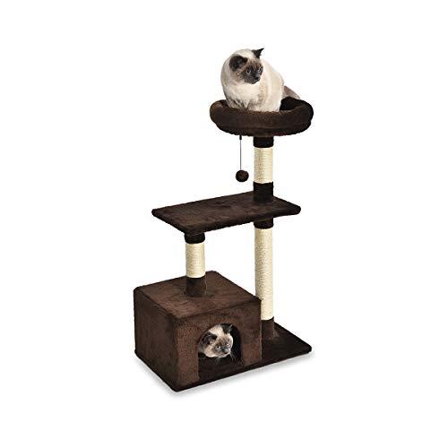 AmazonBasics Cat Tree with Platform, Scratching Posts, X-Large Size