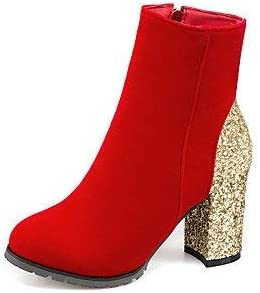 Chaussures ZHRUI Cuir Nubuck Scintillant pour Femmes uF13KJclT