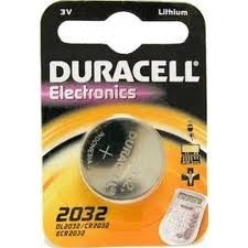 Guilty Gadgets - 1 X Duracell Cr2032 3v Lithium Coin Cell Battery 2032