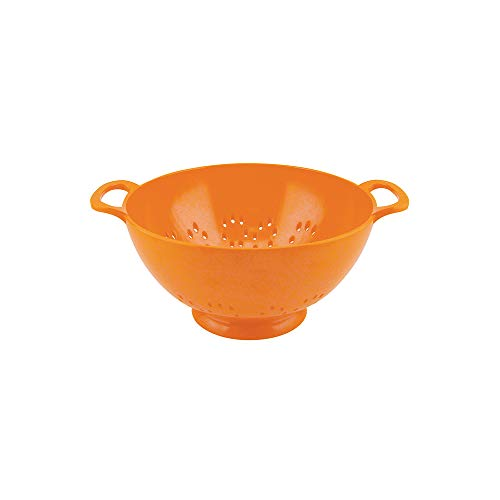 "zakdesigns"" Classic Colander, Melamine, Orange, 15 cm"