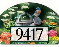 Magnet Works MAIL71126 Garden Bluebird Yard DeSign