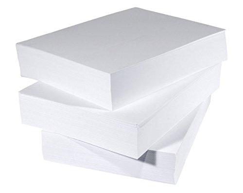 Papel blanco tamaño A5 para impresora, gramaje de 80 g/m² ...
