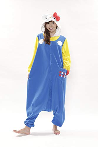 70'S Hello Kitty Kigurumi (Adults)]()