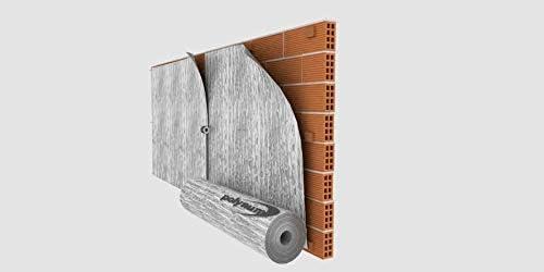 Optimer System RF2 Isolation thermique en aluminium r/éfl/échissant multicouche /à bulles dair 42 m/²