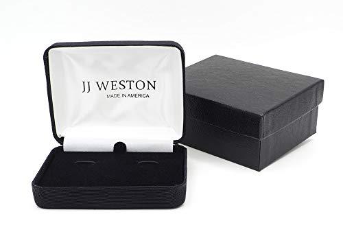 JJ Weston Fleur de Lis Tuxedo Cufflinks and Shirt Studs. Made in the USA. by JJ Weston (Image #1)