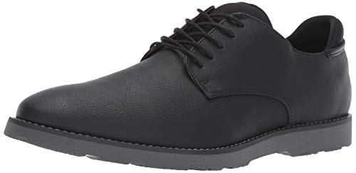 Dr. Scholl's Shoes Men's Flyby Oxford, Black Smooth, 9 M US