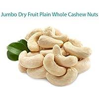 Jumbo Dry Fruit Cashew Nuts 500 Grams Premium Quality Whole Raw Plain Cashews (200 Grams)