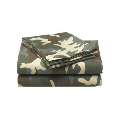 Amazon.com: Tommy Hilfiger Garrison Camo Twin Sheet Set Camouflage