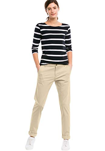 Capri Chino (Ellos Women's Plus Size Stretch Chinos - New Khaki, 24)