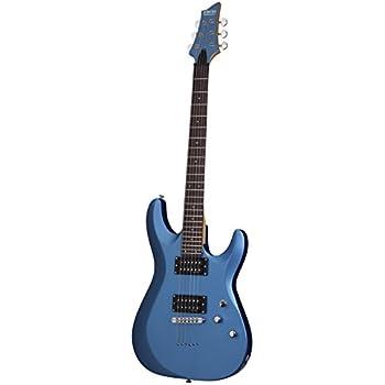 Amazon Com Schecter 431 C 6 Deluxe Solid Body Electric Guitar