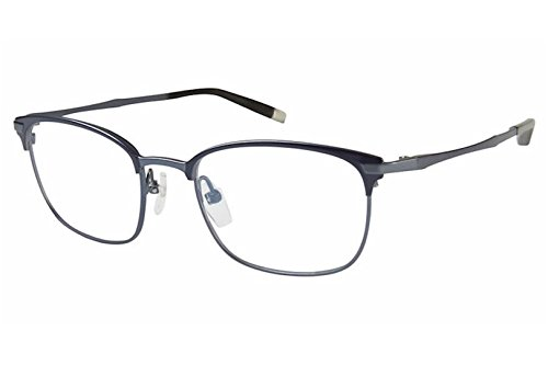Charmant Z Eyeglasses ZTI19841R ZTI/19841R BL Blue Titanium Optical Frame - Charmant Z