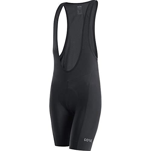 (GORE WEAR C3 Men's Bib Shorts with Seat Insert, Size: XL, Color: Black)