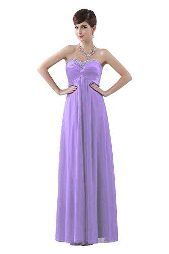 Violett Trägerlos Kleider Hellviolett Formale Spitze bis Ball beauty emily Beeded Tzw8q0n6t