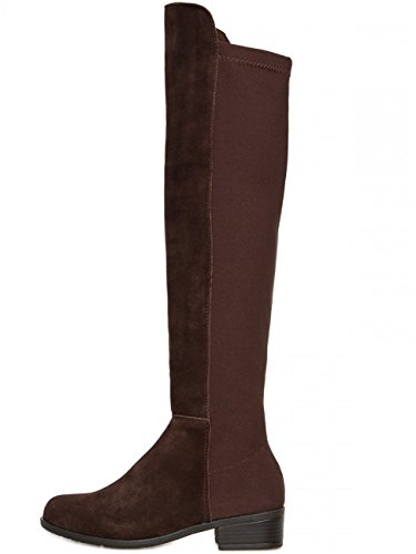 Riding SBO062 Boots CASPAR Women Dark Brown UqaH6x