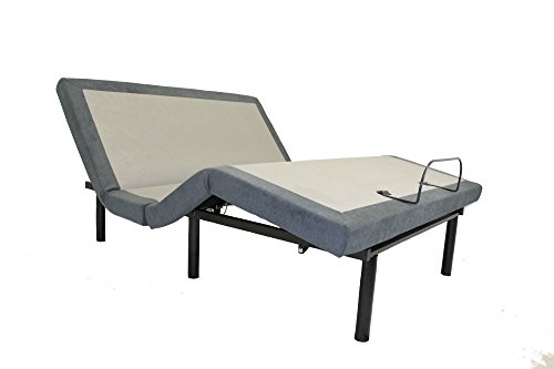 Cheap iDealBed Custom Comfort Adjustable Bed Base, Wireless, Massage, USB Charge Ports, Nightlight, Zero Gravity, Memory Pre-Sets, TwinXL