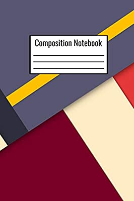 Composition Notebook: Multi Colored Cute College Ruled
