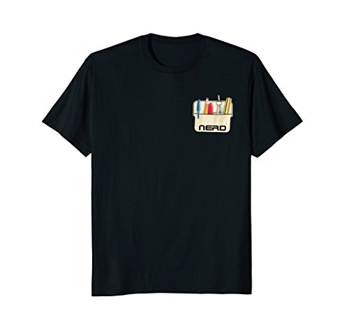 Nerd Pocket Protector T-Shirt - Pocket Nerd Protector With