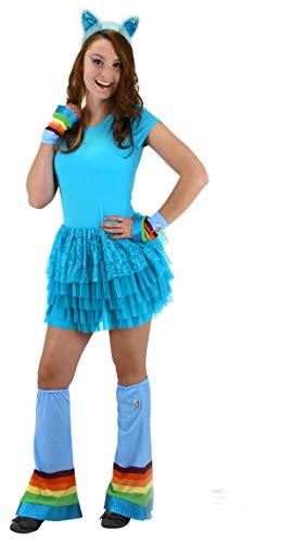 Elope My Little Pony Blue Rainbow Dash Costume Headband with -