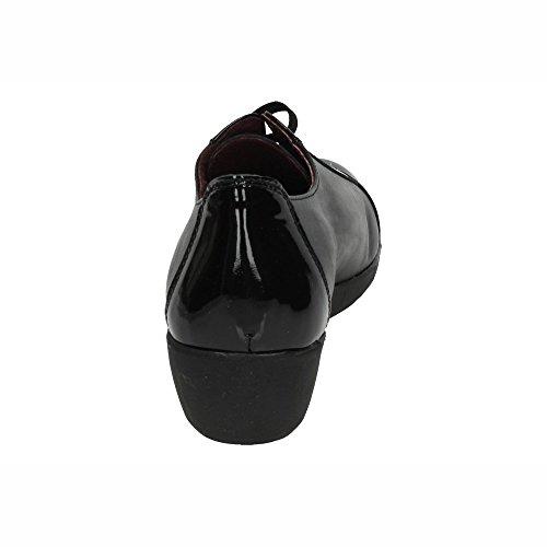 In Made Damen Spain Schwarz Schnürhalbschuhe Sdxq4Cw
