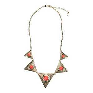 Just Showoff Women's Alloy Triangle Necklace