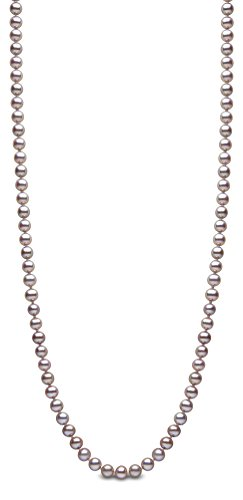 Kimura Pearls Femme  14carats (585/1000)  Or jaune|#Gold Rond  Perle d'eau douce chinoise rose Perle