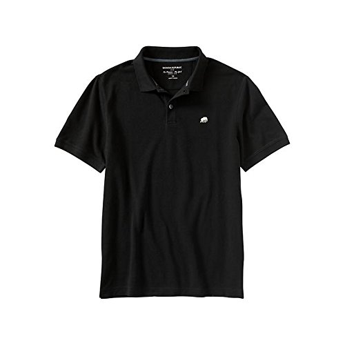 large-banana-republic-elephant-logo-polo-black
