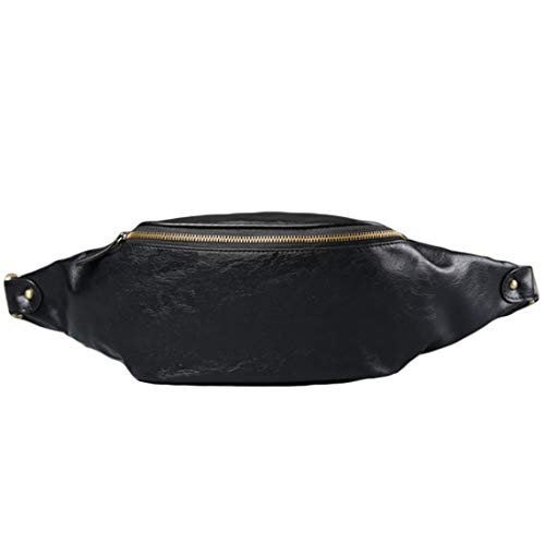 Sac Air Ioshapo De Unisexe Diagonale Sacs Taille À Noir Loisir Paquet Plein Poitrine Bandoulière CZSn6q