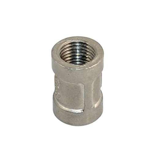 Stainless Steel 304 Threaded Cast Pipe Fitting, Coupling, 1/4