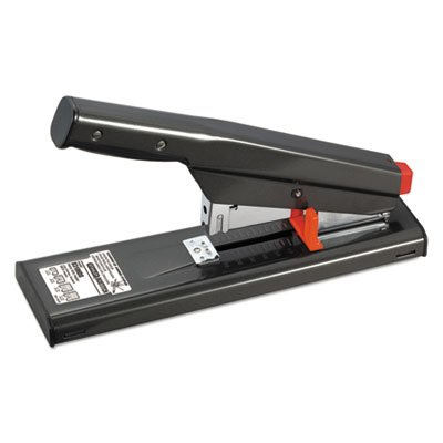 Antimicrobial 130-Sheet Heavy-Duty Stapler, 130-Sheet Capacity, Black