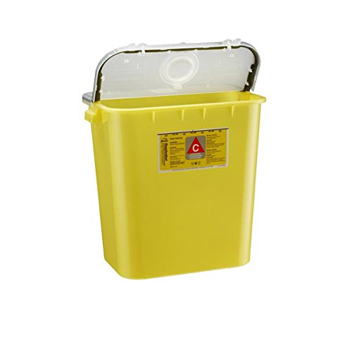 Bemis Healthcare 208 004 Bemis Healthcare Quality Medical Products Needle Disposal Products- 8 Gallon Chemotherapy Container/Gasketed/Dual Purpose Lid - Product Number : #208 004